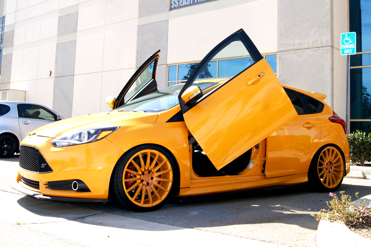 Ford Focus 2010 2015 Vertical Lambo Doors Vertical Lambo