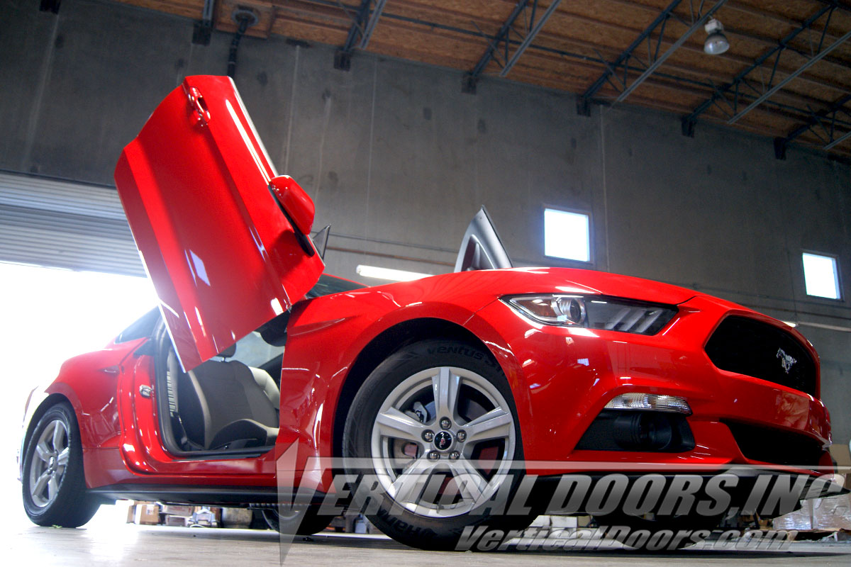 Ford Mustang 2015 2016 Vertical Lambo Doors Vertical